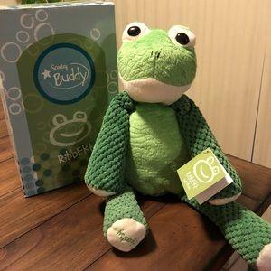NIB! RETIRED! Ribbert the Frog Scentsy Buddy